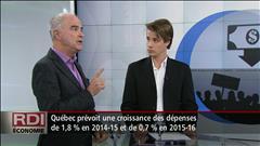 Débat sur l'austérité avec les économistes Jean-Luc Landry et Simon Tremblay-Pepin