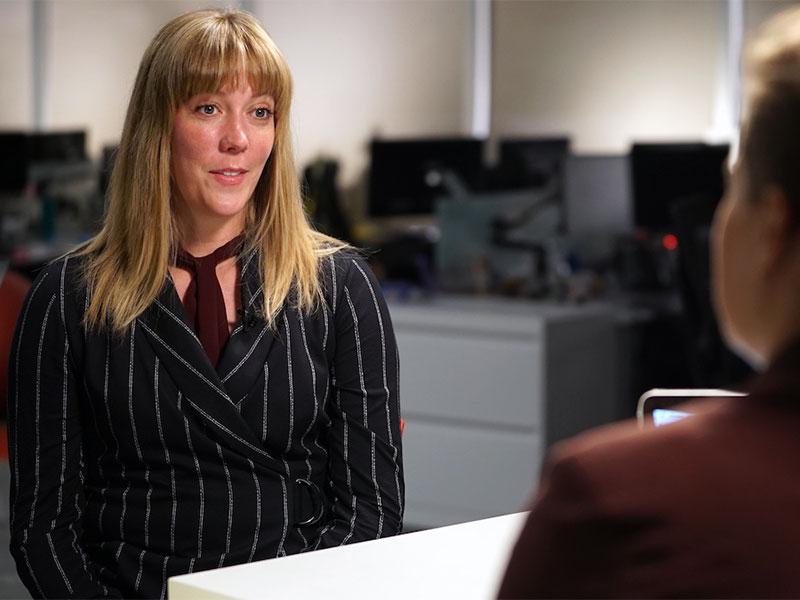 Melanee Thomas, professeure associée en sciences politiques à l'Université de Calgary.