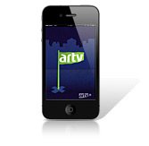 Application Iphone ARTV