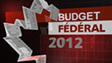 Budget fédéral 2012-2013