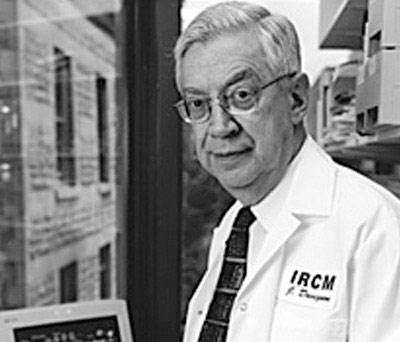 Le chercheur sur le cholestérol et l'athérosclérose Jean Davignon
