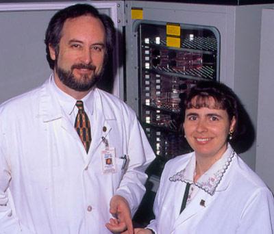 François Auger et Lucie Germain