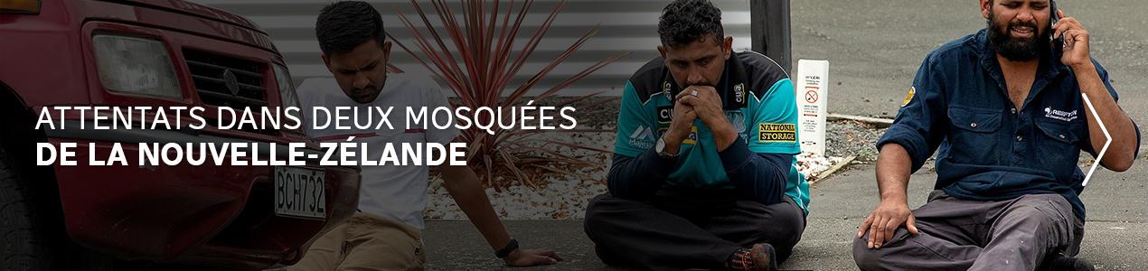 Attentats dans deux mosquées de la Nouvelle-Zélande