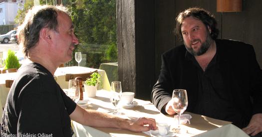 ... Rencontre imaginaire entre Dédé et Jim Corcoran | ICI Radio-Canada