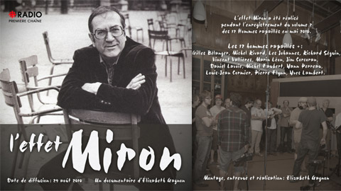 <strong>Une belle histoire autour des mots de Gaston Miron</strong>