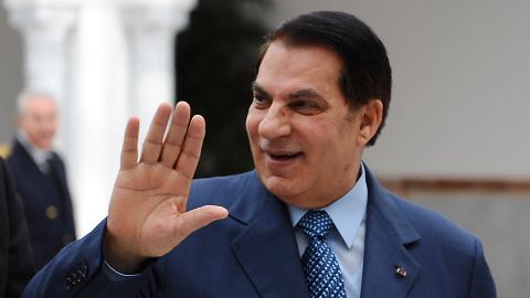 famille ben ali. du président déchu Ben Ali