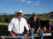 Des patrouilleurs du MinuteMan<br> Project