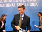 Le milliardaire Bill Gates au 16e Congrès international sur le sida (source: AFP)