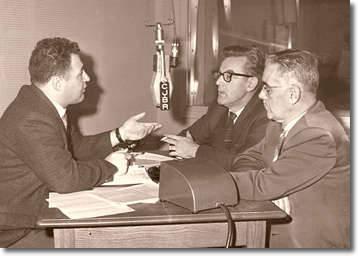 Jean Brisson, Guy Ross et Ernest Dassylva.