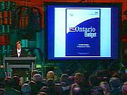 La présentation du budget de 2003