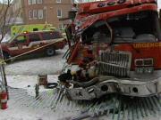 Une collision est survenue jeudi matin