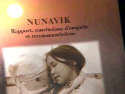 Rapport sur les enfants du Nunavik