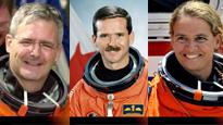 Des Canadiens dans l'espace'