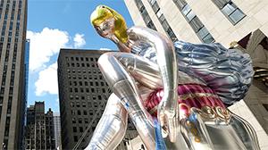 Une immense structure de Jeff Koons à Manhattan