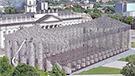 Un Parthénon constitué de 100 000 livres