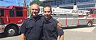 Pompier: l'amour du métier transmise de père en fils