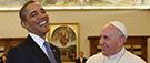 Que cherchent les chefs d'État en visitant le pape?