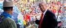 Trump parle de fausses nouvelles devant 45000scouts