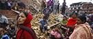 Le Népal, un pays à haut risque séismique