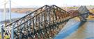 Le pont de Québec est fermé cette fin de semaine