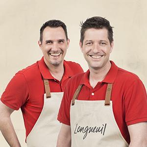 Les deux chefs représentant la ville de Longueuil
