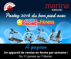 Concours partir 2016 du bon pied accueil formulaire for Club piscine super fitness vaudreuil dorion